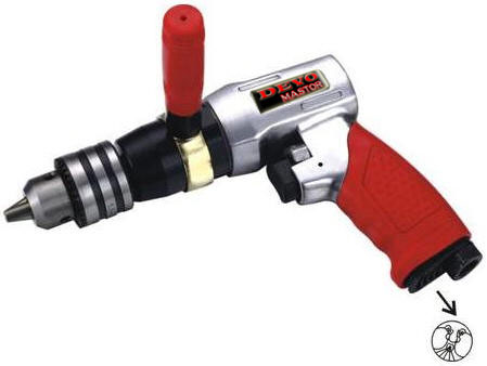 "Devomastor DM-585L 1/2"" Heavy Duty Reversible Air Drill"