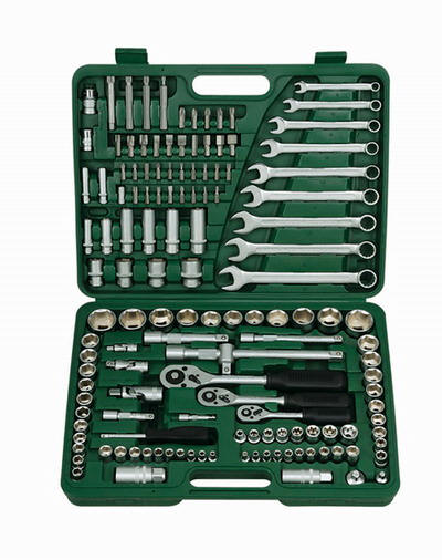 Devomastor DM-723J Hand Socket Tool Set 136 Pieces